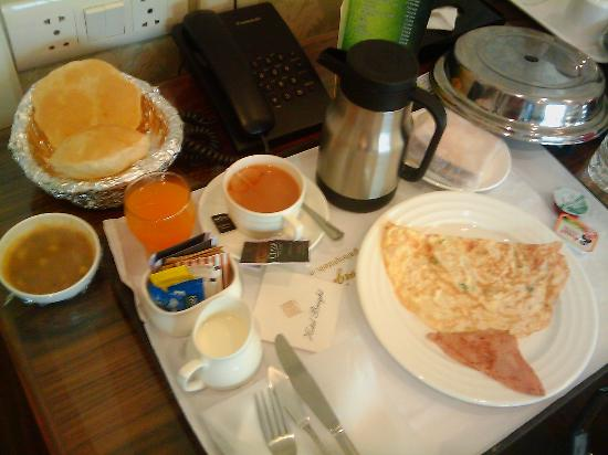 Hotel Bright: Complimentary Room Service Breakfast
