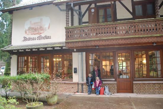 Hotel-Restaurant du Chateau d'Andlau: Bâtiment principal