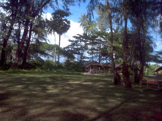 Seaside Cottages & Restaurant: beach huts