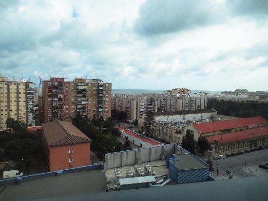 Barcelo Malaga: Vistas dia Nublado