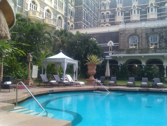 The Taj Mahal Palace: the pool