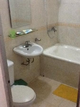 The Oddy Hip Hotel: bathroom