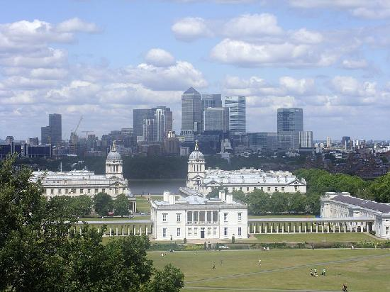 View Over London From Greenwich Park Picture Of