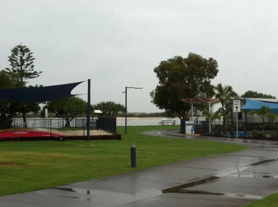 Fun, food, facilities....everything is close by at Caloundra Waterfront Holiday Park
