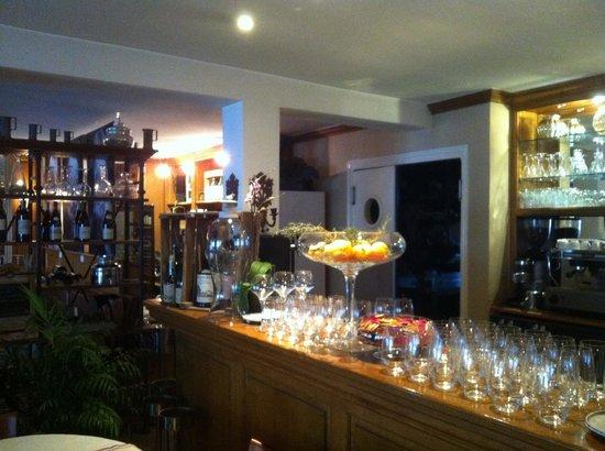 Allan Restaurant: le bar