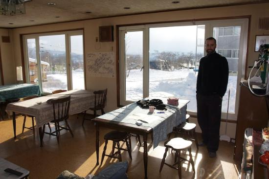 Mountain Jam: The common room where dinner and breakfast is serve.
