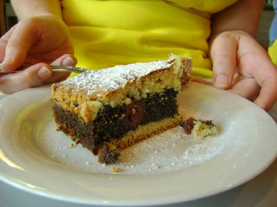 Chefparade Chocolate and Dessert School: our cherry-poppy pie