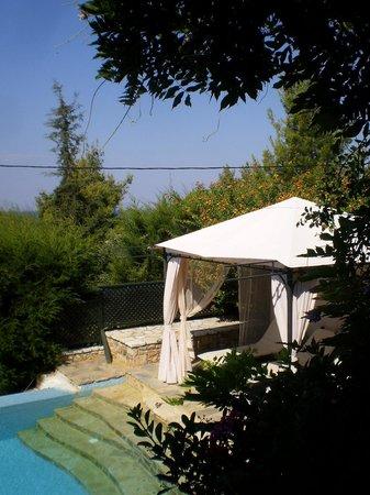 Maria Elena Villas: view from the veranda