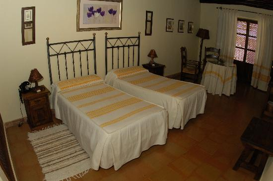 Hotel Rural San Roque: Dormitorio
