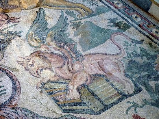 Villa Romana del Casale: mosaico