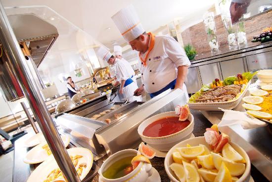 Hotel Viva Bahia: Buffet