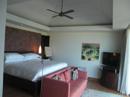 Raffles Seychelles: bedroom