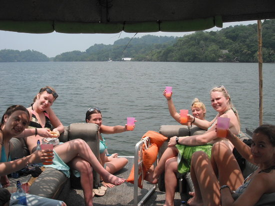 Livingston, Guatemala: having fun