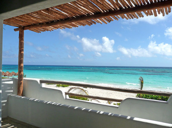 Almaplena Eco Resort & Beach Club : Sea view from the Family Suite
