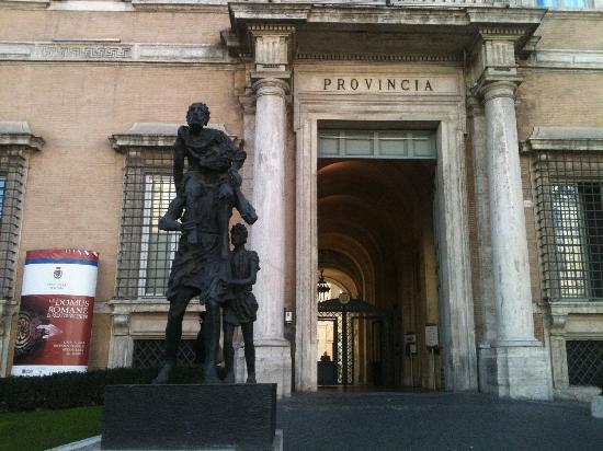 Le Domus Romane di Palazzo Valentini: Entrance