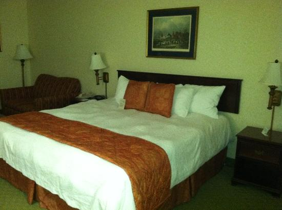 BEST WESTERN Leesburg Hotel & Conference Center: View towards bed