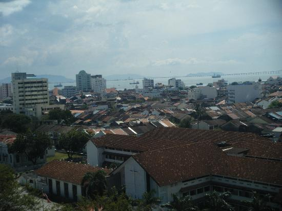 Bayview Hotel Georgetown Penang: View from our room