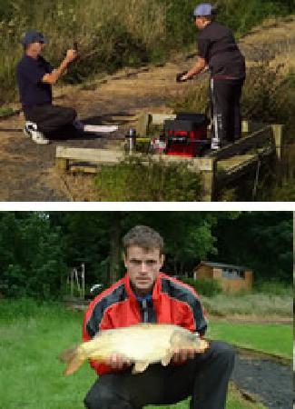 Tyddyn Sargent Coarse Fishery: Fishing at Tyddyn Sargent