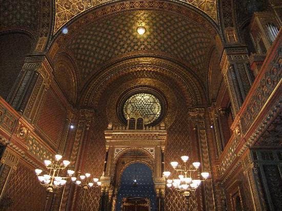 Spanish Synagogue, Jewish Museum in Prague: 内装