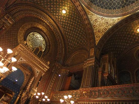 Spanish Synagogue, Jewish Museum in Prague: 内装2