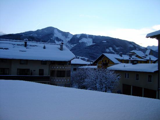 Hotel Glasererhaus: The view from our balcony