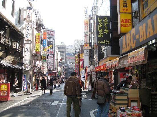 Shinjuku West Exit Camera Town: カメラ街の飲食街