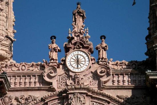 Santa Prisca de Taxco : Clock