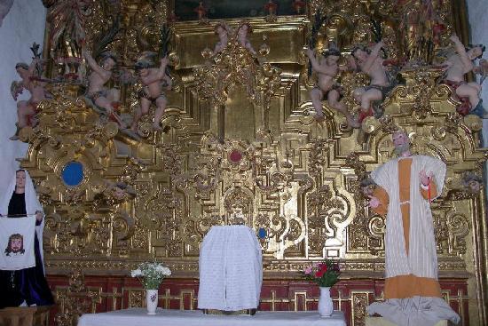 Santa Prisca de Taxco : inside