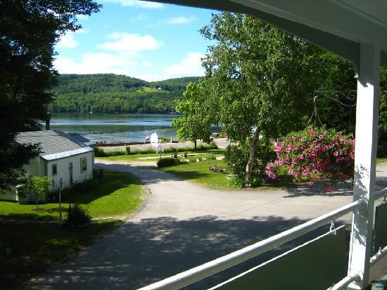 Cottage Place on Squam Lake : View from Cottage Suites