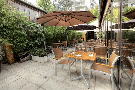 Le Restaurant 71: Terrasse