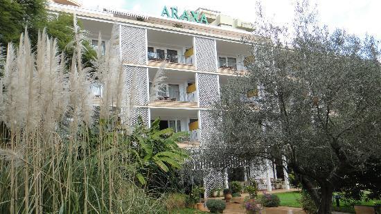 Araxa Hotel : fachada del hotel