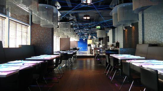 Izkaya Asian Touch Table Restaurant : Izkaya Restaurant Rotterdam First Floor Impression