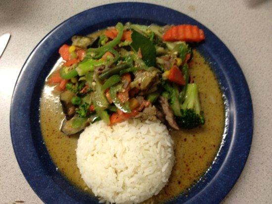 Thai Mini Cafe: Green Curry Pork