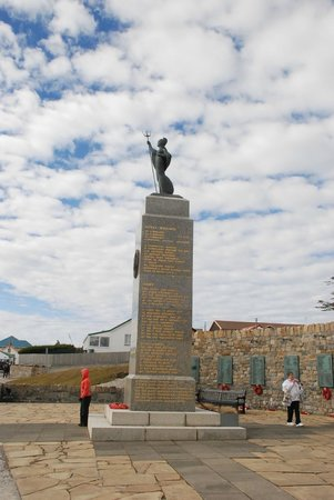 1982 Liberation Memorial: 1882 Falkland Liberation Monument in Stanley