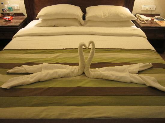 Neelam Hotels - The Glitz Goa: Room - On getting cleaned after Housekeeping