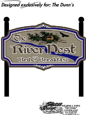 The River Nest B&B: Logo