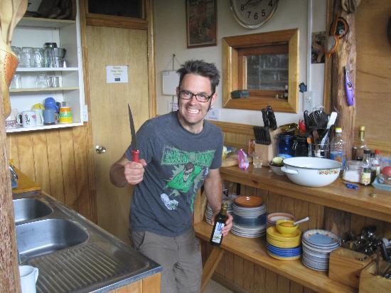 Erratic Rock: our chef!