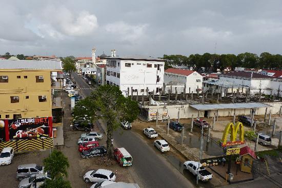 Spanhoek Boutique Hotel: Vanf het balkon