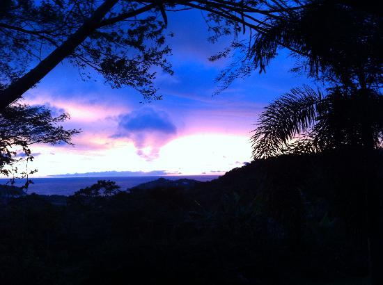 Finca Las Nubes: Did I mention the sunsets?