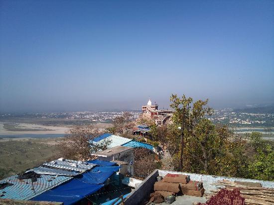 Chandi Devi Temple: view of temple