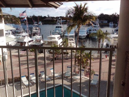 Pirate's Cove Resort and Marina: View from room