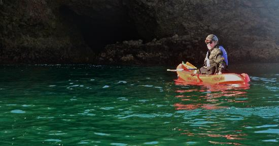Paddle Sports Center : Crystal clear water filtered by volcanic rocks