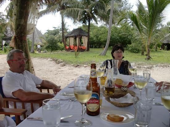 Anna of Zanzibar : Lunch am Strand