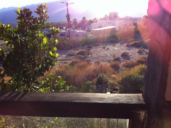 توسكان سبرينجز هوتل آند سبا: View of trailor park.