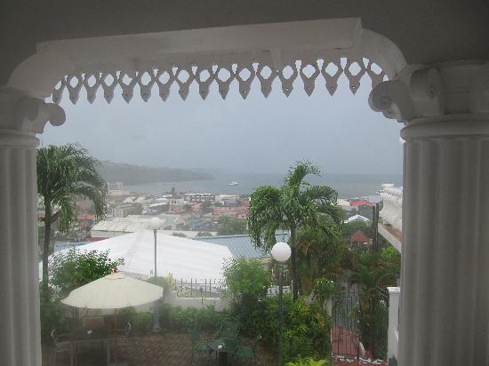 Grenadine House: View During Hurricane Tomas