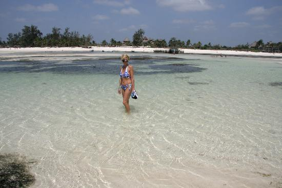 Watamu Beach: L'acqua turchese...