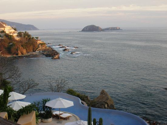 Capella Ixtapa: View from our patio