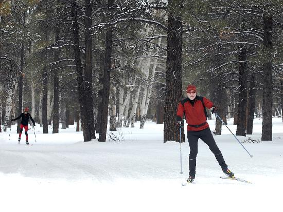 Cross Country Skiing at Flagstaff Nordic Center