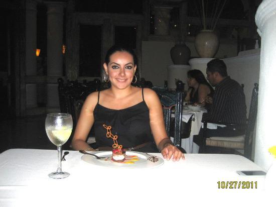 Casa Velas: cenando en restaurante Emiliano