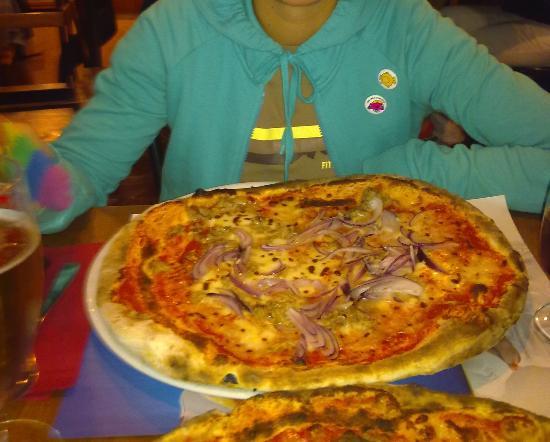 Ristorante Pizzeria Du Tunnel: La pizza......
